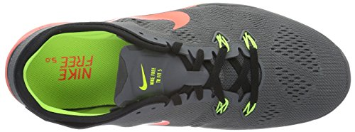 Nike Wmns Free 5.0 TR Fit 5, Chaussures de Fitness Femme Multicolore (Black/Red)