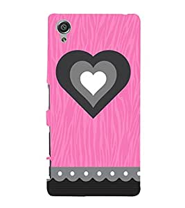 Heart Indian 3D Hard Polycarbonate Designer Back Case Cover for Sony Xperia X :: Sony Xperia X Dual