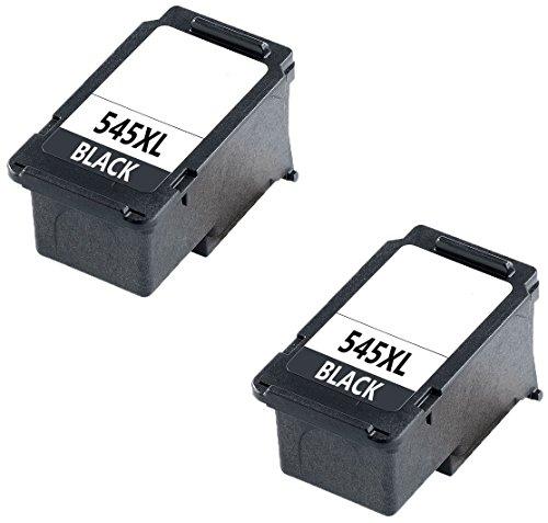 Prestige Cartridge PG-545XL (PG545 XL) Pack de 2 Cartuchos de tinta compatibles para Canon Pixma MG2450, MG2550, MG2550S, iP2850, MG2950, MG3050, MX495 - Negro