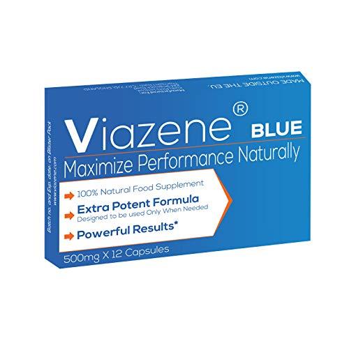 Viazene Blue - Compléments alimentaires extrêmement puissants pour hommes modernes de Viazene -...