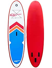 Devessport Arrow 1, Paddle Board, Color Blanco/Rojo