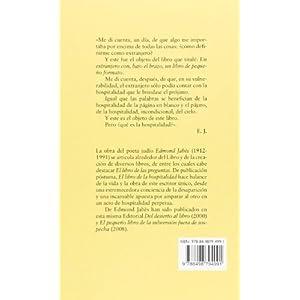 El Libro De La Hospitalidad (Minima Trotta)