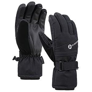Andorra Women's Classic Zippered Pocket Touchscreen Ski Glove