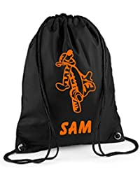 Personalised TIGGER Drawstring/PE/Gym Bag *Choice of colours*