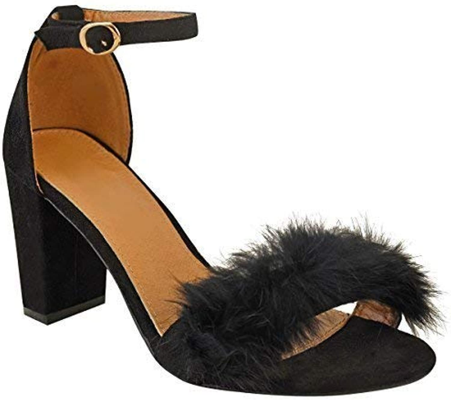 853ee864bab5 ... Thirsty 17706 Womens Ladies Faux Fur Fluffy Low Ladies Wedge nhta-17706 Heel  Sandals Strappy Party Shoes Size UK B07CJMLQM5 Parent f1f3883. Search. Menu