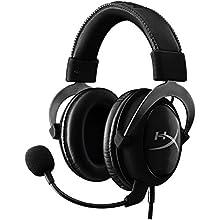 HyperX Cloud II 7.1 Virtual Surround Sound Computer Headset with Advanced USB Audio Control Box - Gunmetal