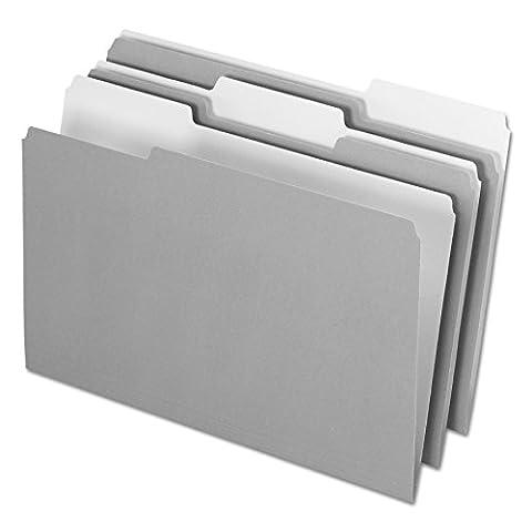 Pendaflex Pendaflex Innen Datei Ordner, 1/3Cut, Top Tab, Legal, 100/Box Legal grau