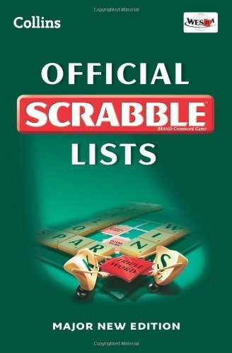 Collins Official Scrabble Lists by Collins Dictionaries (2011-05-05) par Collins Dictionaries;