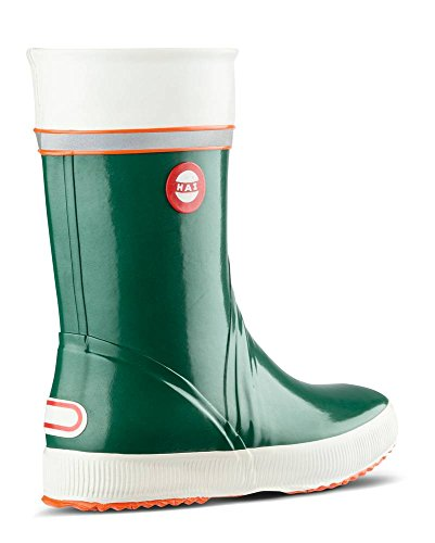Nokian Footwear  Hai, Bottes Unisexe adulte vert tricolore