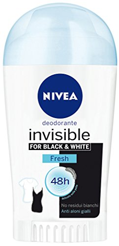 Nivea Deodorant Donna Invisible B&W Fresh Stick 40Ml