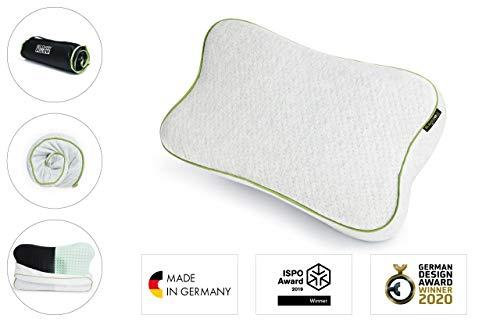 BLACKROLL RECOVERY PILLOW - orthopädisches HWS Kissen (Nackenstützkissen) aus Viscose Memory Schaum - Made in Germany