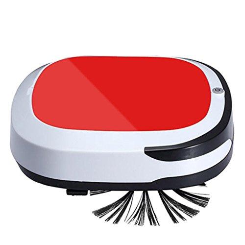 Sannysis-Aspirador-de-Robot-Inteligente-y-Delgado-Robot-Recargable-Mquina-de-Barrido-en-Mojado-Seco-Automtico-Barredora-Totalmente-Inalmbrica-Rojo