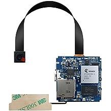 aikes oculta cámara 4K estenopeica Cam Full HD Mini DIY 1080P WIFI Cámara Espía de Seguridad Detector de movimiento, color PCBA