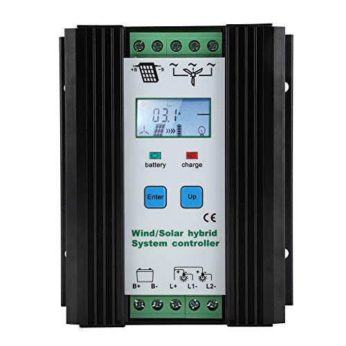 FTVOGUE Wind-Solar-Hybird Controller Digital Intelligent Control Boost Laderegler