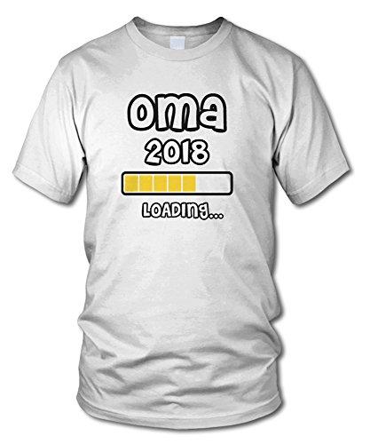 ... verschiedenen Farben - Größe S - XXL Weiß. shirtloge - OMA 2018 LOADING...  - KULT - Fun T-Shirt -