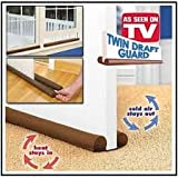 #5: ABsales You Twin Door Draft Guard. Stop Unwanted light and Stop escaping of cool air from air conditioner split or Window