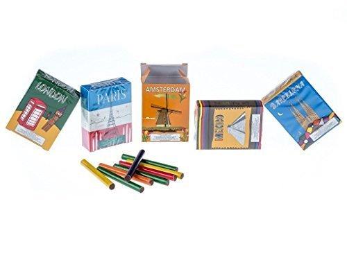 Preisvergleich Produktbild Schokosticks Weltreise 5er Pack