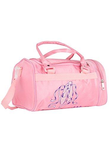 Balletttasche DWS-016 für Mädchen Farbe pink für Ballett Tanz Fitness Sport Gymnastik Freizeit Geschenk