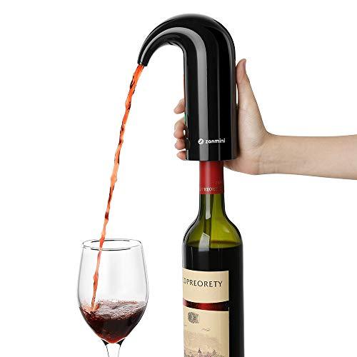 JASNO Decantador eléctrico multifunción Inteligente Vino Tinto eléctrico aireador dispensador de Agua Bomba de Agua USB Recargable Vino vertedor Accesorios