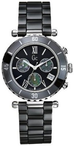 Guess for Men, Watch G43001M2Black Ceramic Strap