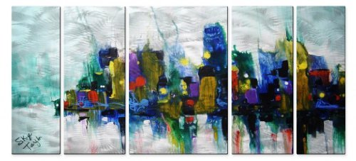 chicago-storm-metal-art-by-all-my-walls