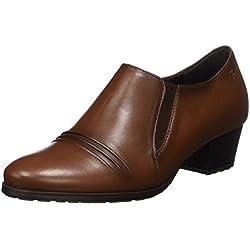 Sioux Francesca-122, Damen Derby Schuhe, Braun (Cognac), 36 EU (3.5 UK)