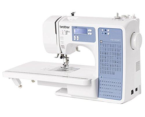 Macchina da cucire elettronica brother fs100wt tavolo prolunga incluso per quilt patchwork - Tavolo con macchina da cucire ...