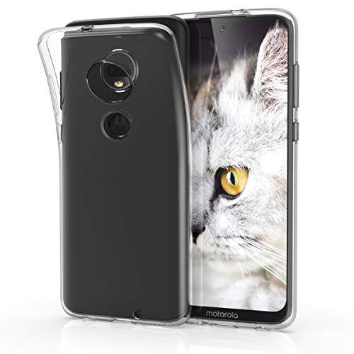 kwmobile Motorola Moto G7 / Moto G7 Plus Hülle - Handyhülle für Motorola Moto G7 / Moto G7 Plus - Handy Case in Transparent