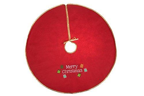 Clever Creations   Falda árbol Navidad   Cierre cordón