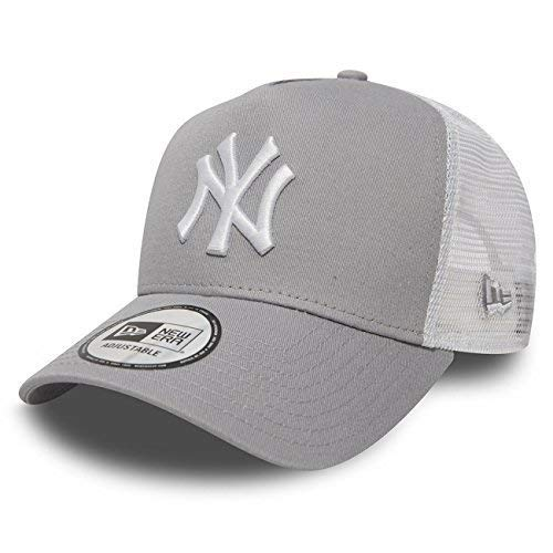 New Era Trucker Mesh Cap im Bundle mit UD Bandana NY Yankees Grey - 2835