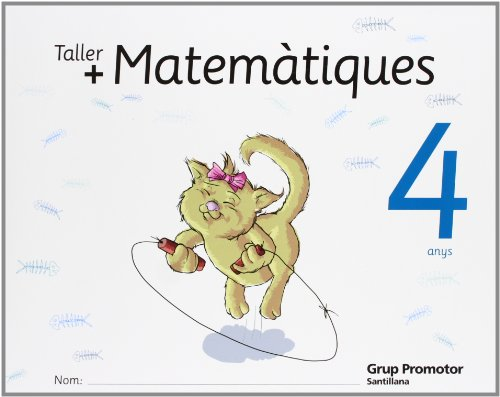 Taller Mas Matematiques 4 Anys Catalan Grup Promotor - 9788479184117