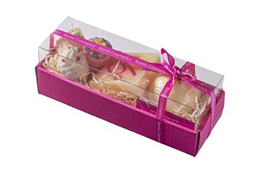 Bomb Cosmetics Hawaiian Flower, Geschenkset, 1er Pack (1 x 5 Stück) - Handgemachte Kakao-butter