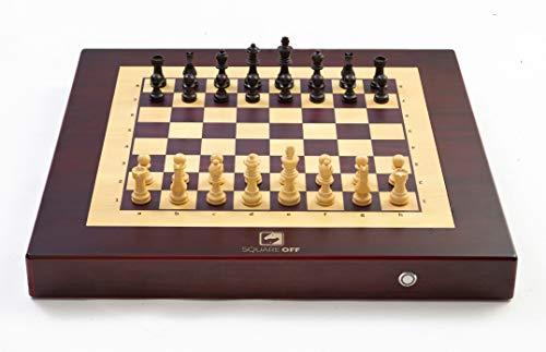 Square Off - Schachcomputer, bei dem sich die Figuren des Gegners wie magisch selbstständig bewegen.
