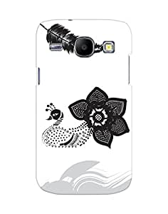 Mobifry Back case cover for Samsung Galaxy Core I8260 Mobile ( Printed design)