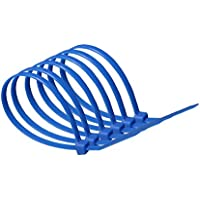 100mm x 2.5mm Blue Cable Ties (pack of 20)