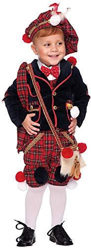 Carnevale Venizano CAV50672-1 - Kleinkindkostüm SCOZZESE NEONATO - Alter: 0-3 Jahre - Größe: 1 (Carnevale Kostüm Neonato)