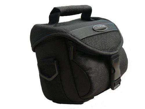 Kameratasche schwarz TY incl. Displayschutzfolie für Nikon Coolpix L120 L320 L330 L810 L820 L830 P510 P520
