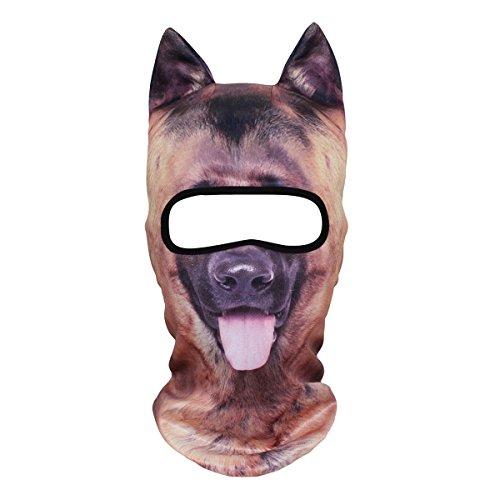 ECYC® Tierohr Balaclava Gesichtsmaske Kostüm Cosplay für Motorräder Fahrrad (Katzen Und Hunde Tragen Halloween Kostüme)
