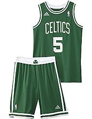 Ajuste adidas-Balón de baloncesto Nba Boston Celtics, color verde y negro