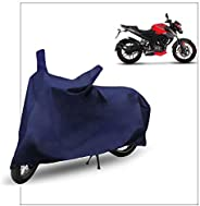 FABTEC Bike/Motorcycle Body Cover for Bajaj Pulsar NS200 , Blue
