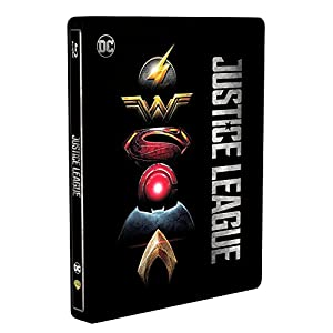 Justice League 3D - Limited Edition Steelbook Blu-ray (Includes 2D Blu-ray and Digital UV Copy) [Region Free]