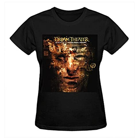 Dream Theater Metropolis Pt. 2 Scenes From A Memory Women's Round Neck T Shirts XXX-Large