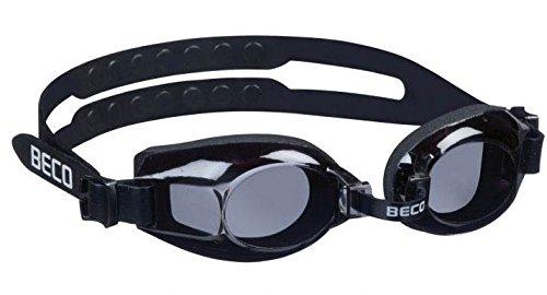 Beco Universal-Schwimmbrille Newport Taucherbrille Anti-Fog schwarz