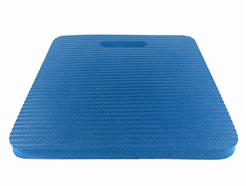 Ergobasis coussin pour enfants/l'école maternelle, pour s'asseoir, env. 24 x 24 x 1,5 cm (Bleu)