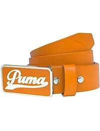 Puma 2015 pour Homme Script Drap-Housse Ceinture éclatantes, Orange, ... 5cc3e7e0785