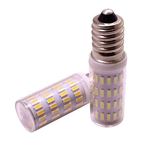 E14 LED Mais Lampenlampe, 3W 12V 24V, Niedervolt Kandelaber LED Lampen, 30W Halogenlampen Ersatzfluter, warmweiß für Kronleuchter Deckenleuchte Dekorative Beleuchtung, 2er Pack -