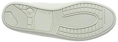 G-STAR RAW Wolker Hi, Sneaker Basse Donna Bianco (Weiß (bright white 1322))