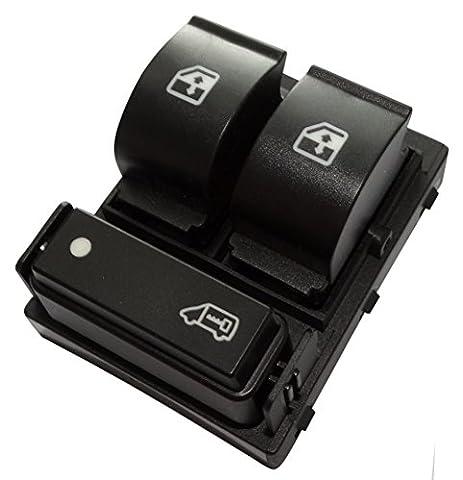 Aerzetix: Interrupteur bouton lève-vitres compatible 6490.X8 6490.X9 6554.XN pour auto