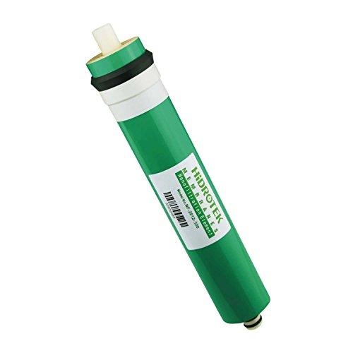 Original Hidrotek Nano 300GPD Umkehr-Osmose Membran. Passend für die meisten Umkehrosmose Anlagen. Osmose Wasserfilter. Nanofiltration von Schadstoffen. NSF Zertifiziert. Tagesleistung 1135 Liter
