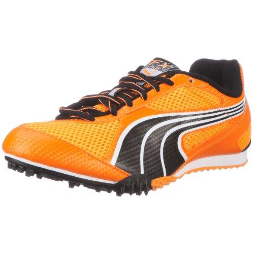 PUMA COMPLETE TFX STAR 184734, Unisex - Erwachsene, Sportschuhe - Running, Orange  (fluo orange-black-white 01), EU 41  (UK 7.5)  (US 8.5) Orange Herren Track Spikes